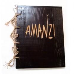 Holz Menu A4 Weinkarte