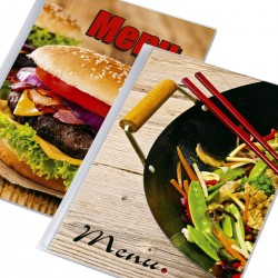 Menu  A4 Cover Holder