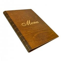 Menú de madera Harmonica A4