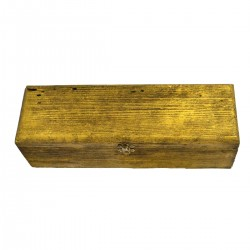 Gift BOX Engraving Single Gold