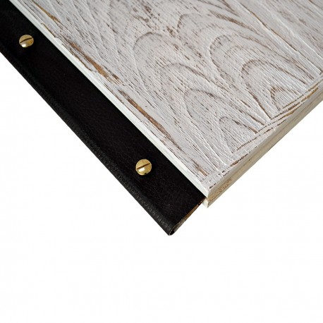Wooden Menu A4 Shabby Chic
