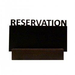 Reservation Table Top Menu
