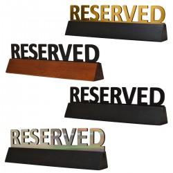 Reservation Table Top Menu